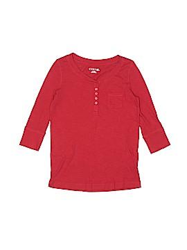 Cherokee 3/4 Sleeve Henley Size 7 - 8