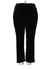 Alfred Dunner Women Velour Pants Size 18 (Plus)