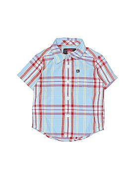 Quiksilver Short Sleeve Button-Down Shirt Size 12 mo
