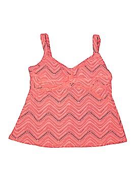 Island Escape Swimsuit Top Size 20 (Plus)