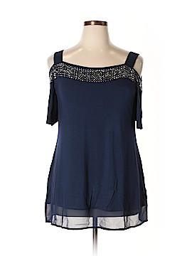 Belldini Short Sleeve Top Size 0X (Plus)