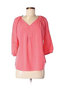 St. John's Bay 3/4 Sleeve Blouse Size L (Petite)
