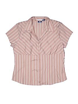 Essential DCC Missy Short Sleeve Blouse Size XL