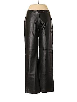 BCBGMAXAZRIA Leather Pants Size 10