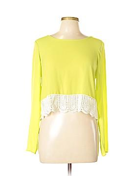 B Sharp Long Sleeve Blouse Size L