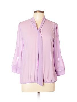 Belle Du Jour Long Sleeve Blouse Size XL