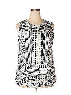 Ava & Viv Sleeveless Blouse Size 3X (Plus)