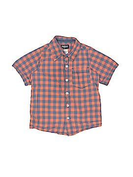 OshKosh B'gosh Short Sleeve Button-Down Shirt Size 4