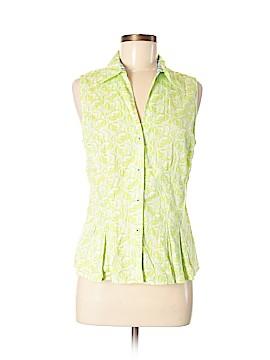 Tommy Hilfiger Sleeveless Button-Down Shirt Size 12
