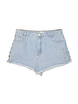 Honey Punch Denim Shorts Size L