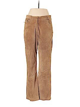 Isaac Mizrahi Leather Pants Size 10