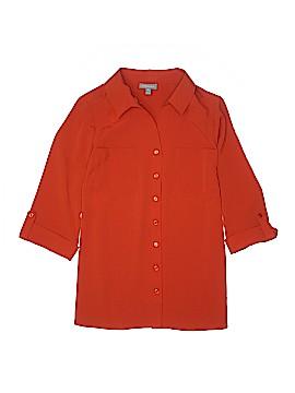 Essentials 3/4 Sleeve Blouse Size 0X (Plus)