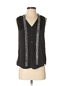 MICHAEL Michael Kors Sleeveless Button-Down Shirt Size XS