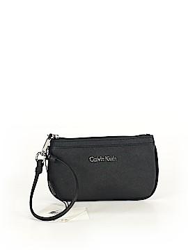 Calvin Klein Leather Wristlet One Size