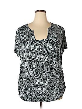 Worthington Short Sleeve Top Size 3X (Plus)