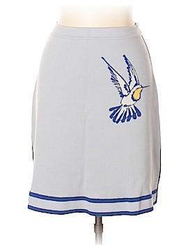 Carolina Herrera Wool Skirt Size M