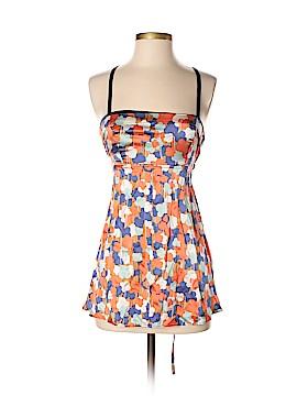Hype Sleeveless Silk Top Size S