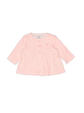 Carter's Long Sleeve Button-Down Shirt Size 3 mo