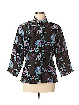 Silk Land Silk Blazer Size M