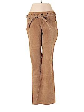 BB Dakota Leather Pants Size 11/12