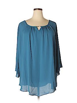 Avenue 3/4 Sleeve Blouse Size 1X (Plus)