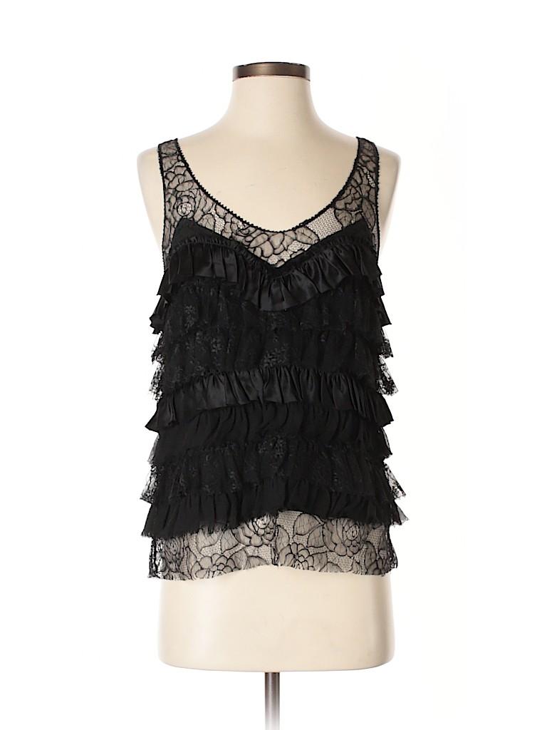 Rebecca Taylor Women Sleeveless Silk Top Size 2