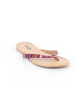 Charlotte Russe Flip Flops Size 5