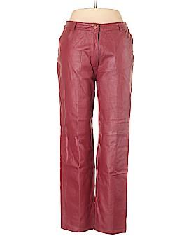 Metro Style Leather Pants Size 12