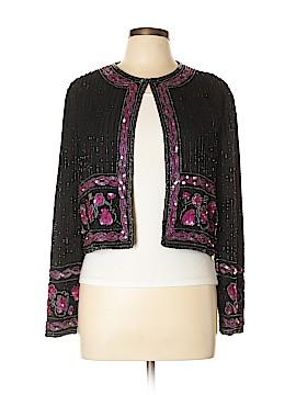 Papell Boutique Evening Silk Blazer Size L