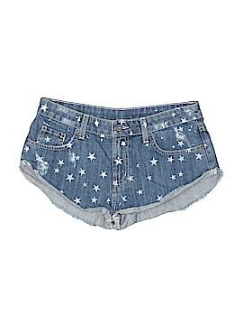 Car Mar Denim Shorts Size 28 (Plus)