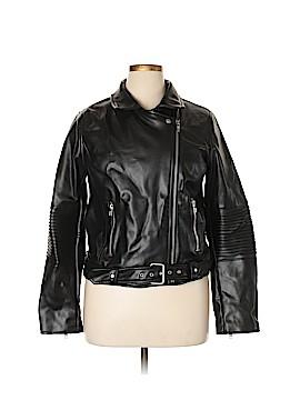 Sugar Lips Faux Leather Jacket Size XL