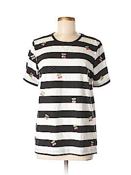 The Quacker Factory Short Sleeve T-Shirt Size M