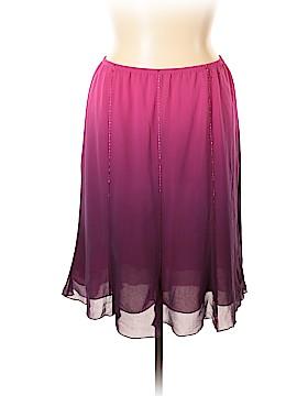 Lane Bryant Silk Skirt Size 18/20 (Plus)