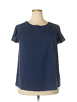 Lane Bryant Short Sleeve Blouse Size 14 Plus (1) (Plus)