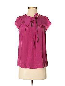Banana Republic Short Sleeve Silk Top Size XS