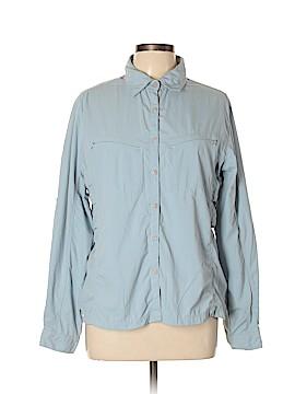 Eastern Mountain Sports Long Sleeve Button-Down Shirt Size XL