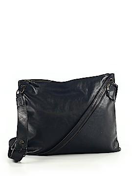 John Varvatos Leather Crossbody Bag One Size