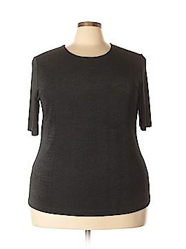Carole Little Short Sleeve Top Size 2X (Plus)