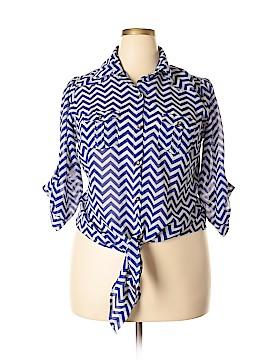 Millenium 3/4 Sleeve Blouse Size 1X (Plus)