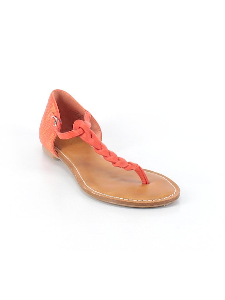 2e28abc4c67 Lands  End Solid Orange Sandals Size 8 - 52% off