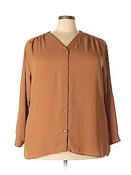 Covington Long Sleeve Blouse Size 3X (Plus)