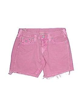 True Religion Denim Shorts 27 Waist