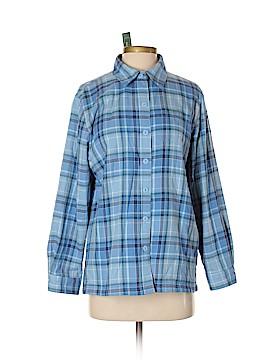 L.L.Bean Long Sleeve Button-Down Shirt Size S (Petite)