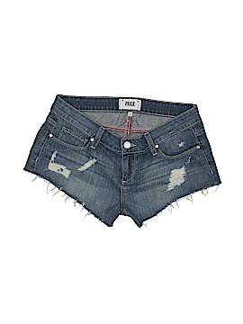 Paige Denim Shorts Size 26 (Plus)