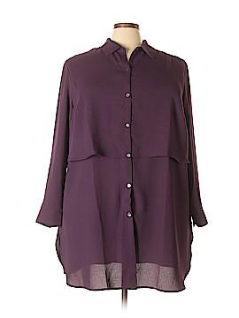 J.jill 3/4 Sleeve Blouse Size 3X (Plus)