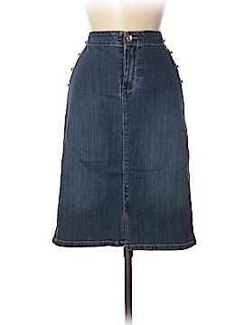 Chico's Denim Skirt Size Med (1)