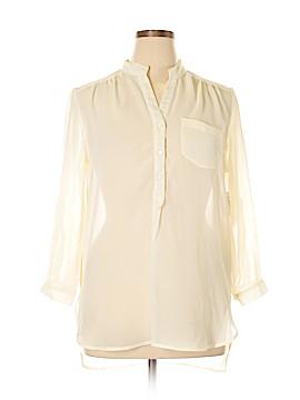 Dots Long Sleeve Blouse Size XL
