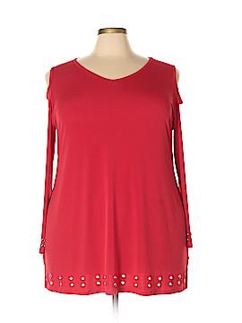 Belldini Long Sleeve Blouse Size 3X (Plus)