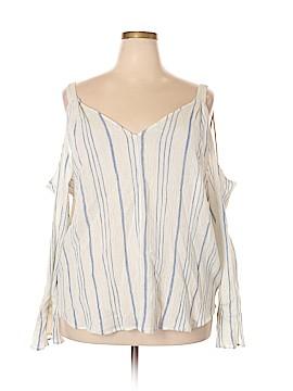 Jessica Simpson Long Sleeve Blouse Size 2X (Plus)