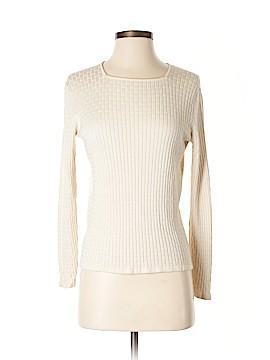 Geoffrey Beene Sport Silk Pullover Sweater Size S